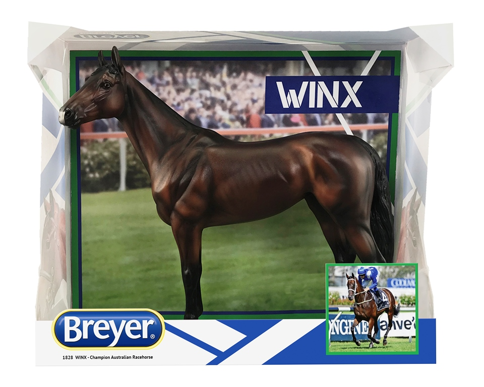 Retired Racehorses To Benefit From Sale Of Winx Model