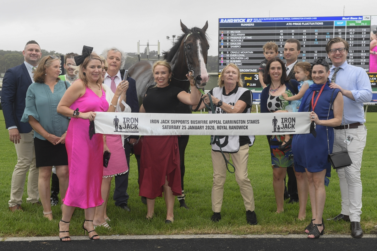 Cunningham Sets New Goal For Stable Star
